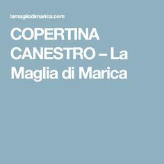 COPERTINA CANESTRO – La Maglia di Marica