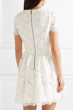 Alice Olivia - Karen Lace Mini Dress - Off-white - US