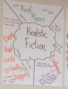 40 Best Writing Realistic Fiction Images School Fiction Fiction