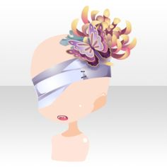 (Face Accessories) Chrysanthemum on Eyepatch & Mouth ver. Cartoon Outfits, Anime Outfits, Purple Hands, Magical Jewelry, Red Butterfly, Anime Dress, Cocoppa Play, Dress Drawing, Model Outfits