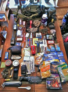 This is a great start for a bug out bag!