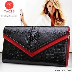 Cheap ladies messenger bag, Buy Quality shoulder bags directly from China messenger bag Suppliers: 2016 GESUNRY Genuine Leather Women Crocodile Shoulder Bag Trendy Women Clutch Wallet Purse Lady Messenger Bag Sacs Design, Bags Travel, Crocodile, Clutch Wallet, Clutch Bags, Wallets For Women, Leather Handbags, Leather Clutch, Purses