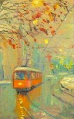OMBRE E LUCE DI LUNA: Il tram