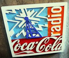 Coca cola radio sign 2 by houstonryan, via Flickr