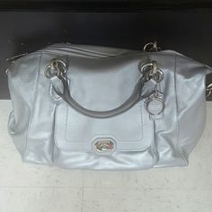 Coach Madison satchel NWOT. never got around to using. Don't hv the dustbag but the purse was kept in a plastic container so it is in new condition. Coach Bags Satchels