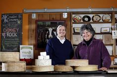 Cowgirl Creamery is a company located in Point Reyes Station, California which manufactures artisanal cheeses. Founded in 1994, the company both manufactures its own cheeses (including Red Hawk and Mt. Tam, named after Mount Tamalpais) and sells other imported and domestic cheese. The company operates storefronts in the Ferry Building of San Francisco and in the Penn Quarter neighborhood of Washington, D.C.