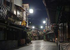 夜散歩のススメ「葛飾帝釈天参道」 東京都葛飾区