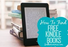How to Find FREE Kindle and Nook Books! Who doesn't love FREE and who doesn't love a good book!  You don't have to spend a ton to find good books!