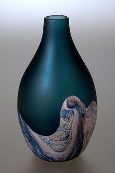 Small Blue Perfection by eastfallsglass, via Flickr