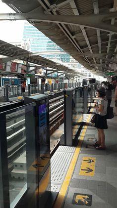 Saladeng Station, Bangkok, Thailand