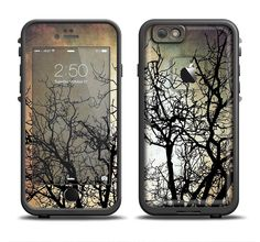 The Dark Branches Bright Sky Apple iPhone 6/6s Plus LifeProof Fre Case Skin Set from DesignSkinz