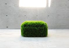 Fadi Sarieddine's awesome new grass-covered sofa, cleverly dubbed The Mow Chair, aims to bring the great outdoors inside.