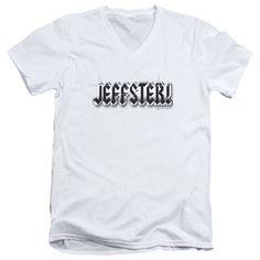 Chuck/Jeffster Short Sleeve Adult T-Shirt V-Neck in