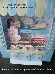cake shop | PaperPuff