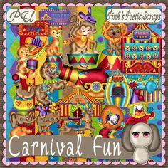 Pink's Poetic Scraps: Carnival Fun BT
