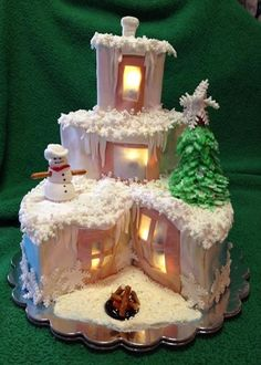 Home for Christmas - Cake by pattie