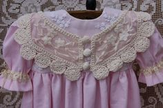 Beautiful dress for France or German antique doll 27-28