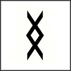 "Viking symbol which means ""Where there is a will, there is a way""."