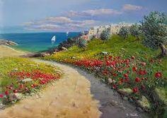 Risultati immagini per dipinti paesaggi marini