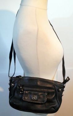 #twitter#tumbrl#instagram#avito#ebay#yandex#facebook #whatsapp#google#fashion#icq#skype#dailymail#avito.ru#nytimes #i_love_ny     GIANI BERNINI (GB) black leather cross-body bag w/ many pockets inside and out #GianiBernini #Crossbodyorshoulder