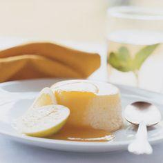 Lemon Pudding Cakes with Apricot Sauce Recipe - Gary Danko | Food & Wine