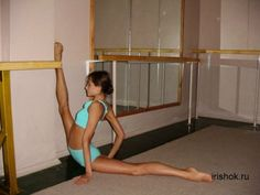 You tell some one your a dancer, they ask if you can do the splits