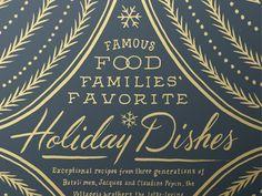 Lovely / Food & Wine Holiday Opener by Dana Tanamachi