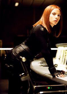 Natasha Romanoff / Black Widow - Scarlett Johansson -  Captain America, The Winter Soldier