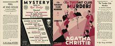 The Tuesday Club Murders by Agatha Christie Miniature Dolls, Miniature Tutorials, Mini Library, Album Book, Agatha Christie, Book Making, Mini Books, Dollhouse Miniatures, Book Covers