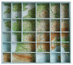 met landkaart