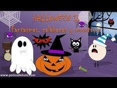 Cuento de Halloween para niños: fantasmas, calabazas y monstruos - YouTube