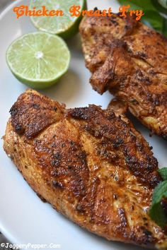 Chicken Breast Fry Recipe | Mexican Style Chicken Breast Pan Fry