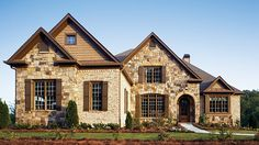 Home Plan HOMEPW10863 - 2776 Square Foot, 4 Bedroom 3 Bathroom + French Country Home with 2 Garage Bays | Homeplans.com