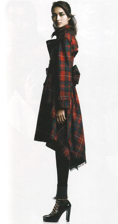 Terrific Tartan- Would have no place to wear this, but I love it just the same. Big city Christmas concert? I don't know.