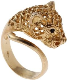 Jaguar motif ring / ShopStyle: IOSSELLIANI Ring