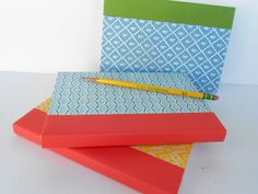 *Rook No. 17: recipes, crafts & whimsies for spreading joy*: Last Minute Handmade Gift Tutorial ~ Make Upcycled Book Journals~(Elmers Holiday #GluenGlitter)