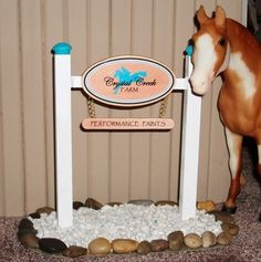 Stable sign for sale