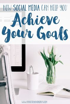 We don't usually associate social media with being able to achieve your goals but there's a way to make it work for you and it all has to do with motivaiton