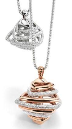 Verliefd op deze hangers! #Fope is te koop bij Rob Lanckohr, Atelier voor Juwelen. www.lanckohr.nl