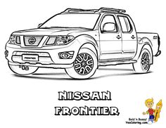 51 Best Free Tough Truck Coloring Pages Images On Pinterest Big