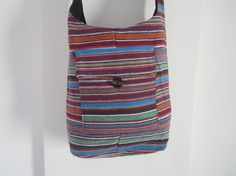 Indian Cotton Bag Indian Bag  Muliticolored by elephantsofindia, $20.00