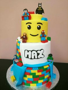 Best 25 Lego Birthday Cakes Ideas On Pinterest Lego