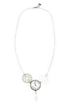 I love this Clock Button Necklace https://www.shoptiques.com/products/clock-button-necklace @Shoptiques
