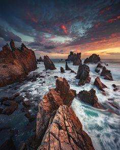 Water Photography, Landscape Photography, Nautical Wall Art, Shark, Maine, Sunrise, Vacation, Adventure, Artist