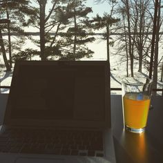Letting the warmth of a midwinter son fuel the creative process. #writing #creative #sun #entrepreneur