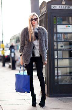 faux fur coat :-*