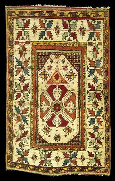 18th century Turkish rug, Western Anatolia. private collection
