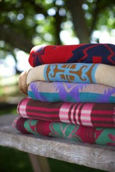Camping Blanket - love campy blankets