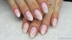 baseveheinails: Cieniowany french - Babyboomer nails