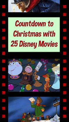 Countdown to Christmas with 25 Disney Christmas Movies movies Ultimate Disney Christmas Movies List + Free Printable Disney Christmas Movies, Disney Christmas Decorations, Christmas Vacation, Christmas Music, Christmas Countdown, All Things Christmas, Disney Movies, Christmas Holidays, Disney Holidays